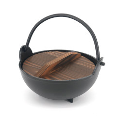 Medium Japanese cooking pot with lid - CHORI NABE