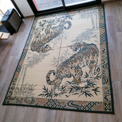 japanese straw brown mat carpet TORA