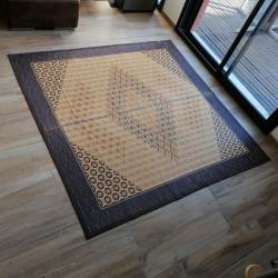 tappeto tradizionale giapponese in paglia di riso, KUMIKO, asanoha