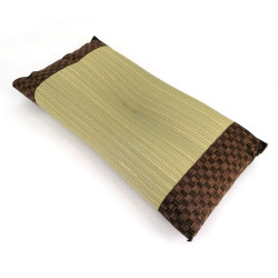 japanese straw cushion IORI 50x30cm