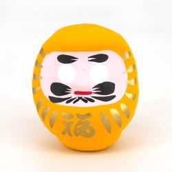 Bambola giapponese, protezione, DARUMA, giallo