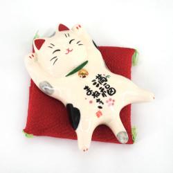 lucky cat Maneki-neko MANPUKU