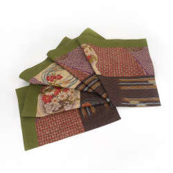 Fabric table runner - SAMAZAMANA - green
