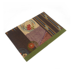 Fabric placemat - SAMAZAMANA - brown