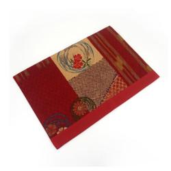 Tovaglietta in tessuto - SAMAZAMANA - rossa