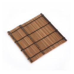 Sottobicchiere in bambù scuro, ALCUNI, naturale