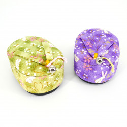 Jewelry box in the shape of a geta - GETA - green or purple