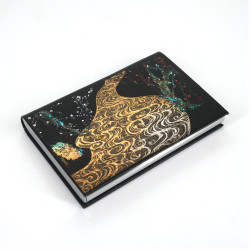 Decorated Japanese rectangular card holder, KOURINBAI