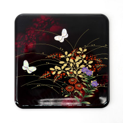 Japanese decorative resin coaster, MIYABINO