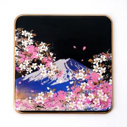 Sottobicchiere in resina decorativa giapponese, FUJISAKURA