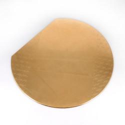 Tovaglietta giapponese in resina dorata, ASANOHA