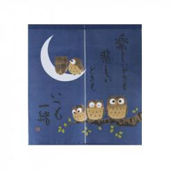 Rideau japonais noren en polyester, ITSUMO ISSHÔ