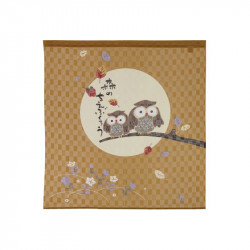 Rideau japonais noren en polyester, CHIE FUKURÔ