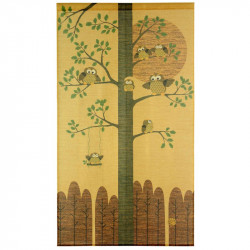 Japanese noren polyester curtain, KINUN FUKURÔ