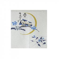 Rideau japonais noren en polyester, TSUYUKUSA FUKURÔ