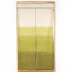 Rideau japonais noren en polyester, REKKA SHITA