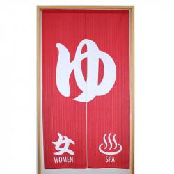 Vorhang aus japanischem Noren-Polyester, ONNA ONSEN