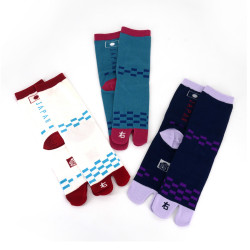 Japanese tabi cotton socks, NIHON NO HATA
