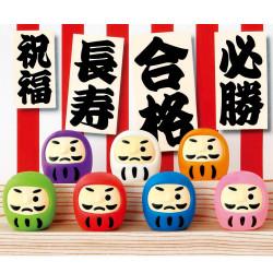 Japanese eraser, DARUMA IWAKO, random colour