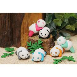 Gomme japonaise, PANDA IWAKO, couleur au hasard