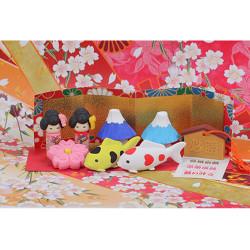 Japanischer Radiergummi, JAPAN IWAKO, zufällige Farbe