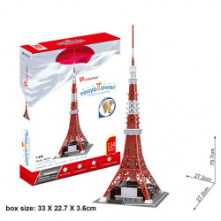 Puzzle 3D, TOKYO TOWER