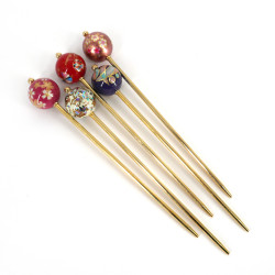 Kanzashi hairpick, MAKIE