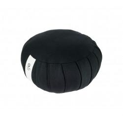 Meditation cushion, round, black, ZAFU