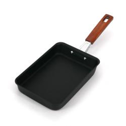 IWACHU Padella quadrata in ghisa giapponese per frittata tamagoyaki