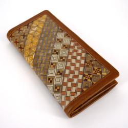 Japanese wallet, YOSEGI NAGAZAIFU