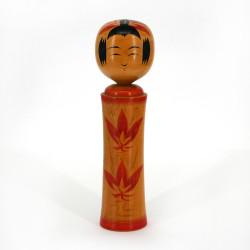 Japanese wooden doll - vintage kokeshi - NARUKO