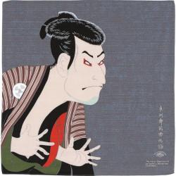 Japanese Furoshiki, SHARAKU, Grey
