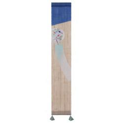Hemp tapestry, hand painted, GARASU FURIN