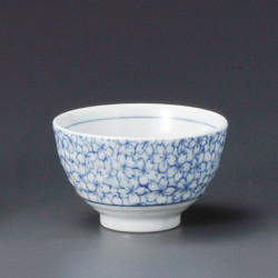 taza de té japonés, KYÔSAKURA, flores