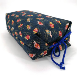 Makura Japanese pillow with small fish, MAKURA fish, removable cover