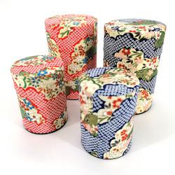 Scatola da tè giapponese in carta washi, CHIBORI