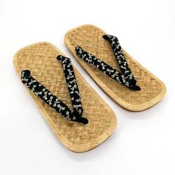 paio di sandali giapponesi - Zori paglia bambù per uomo, TOMBO