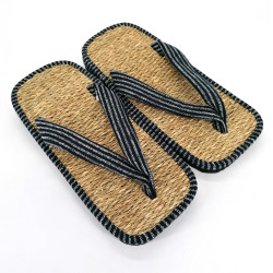 paio di sandali giapponesi zori di erba marina, LINE