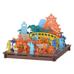 Mini cardboard model, EDO, Edo