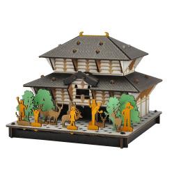 mini cardboard mockup, TODAI-JI, Great Buddha of Nara