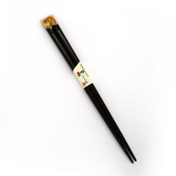 Pair of Japanese chopsticks in natural wood - WAKASA NURI TORA