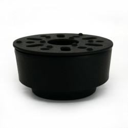 Cast iron teapot heater, IWACHU, black