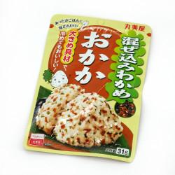 Condimento per riso al sapore di wakame e alghe bonito - FURIKAKE MAZEKOMI WAKAME OKAKA