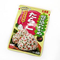 Seasoning for rice with wakame and bonito seaweed flavor - FURIKAKE MAZEKOMI WAKAME OKAKA
