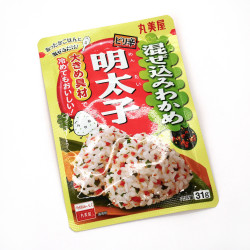 Condimento para arroz con sabor a alga wakame y huevas de bacalao condimentadas - FURIKAKE MAZEKOMI WAKAME MENTAIKO