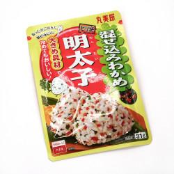 Seasoning for rice with wakame seaweed flavor and seasoned cod roe - FURIKAKE MAZEKOMI WAKAME MENTAIKO