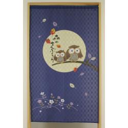 Japanese noren polyester curtain, MORI NO CHIE FUKURÔ