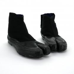 the pair of Japanese Jikatabi black reinforced toe, ESK-3, black