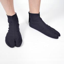 il paio di calzini giapponesi, COTTON TABI, nero