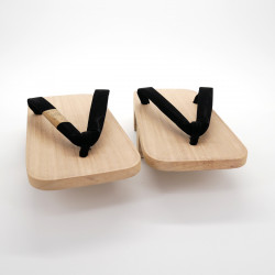 Japanese wooden Geta clogs, GETA, wood